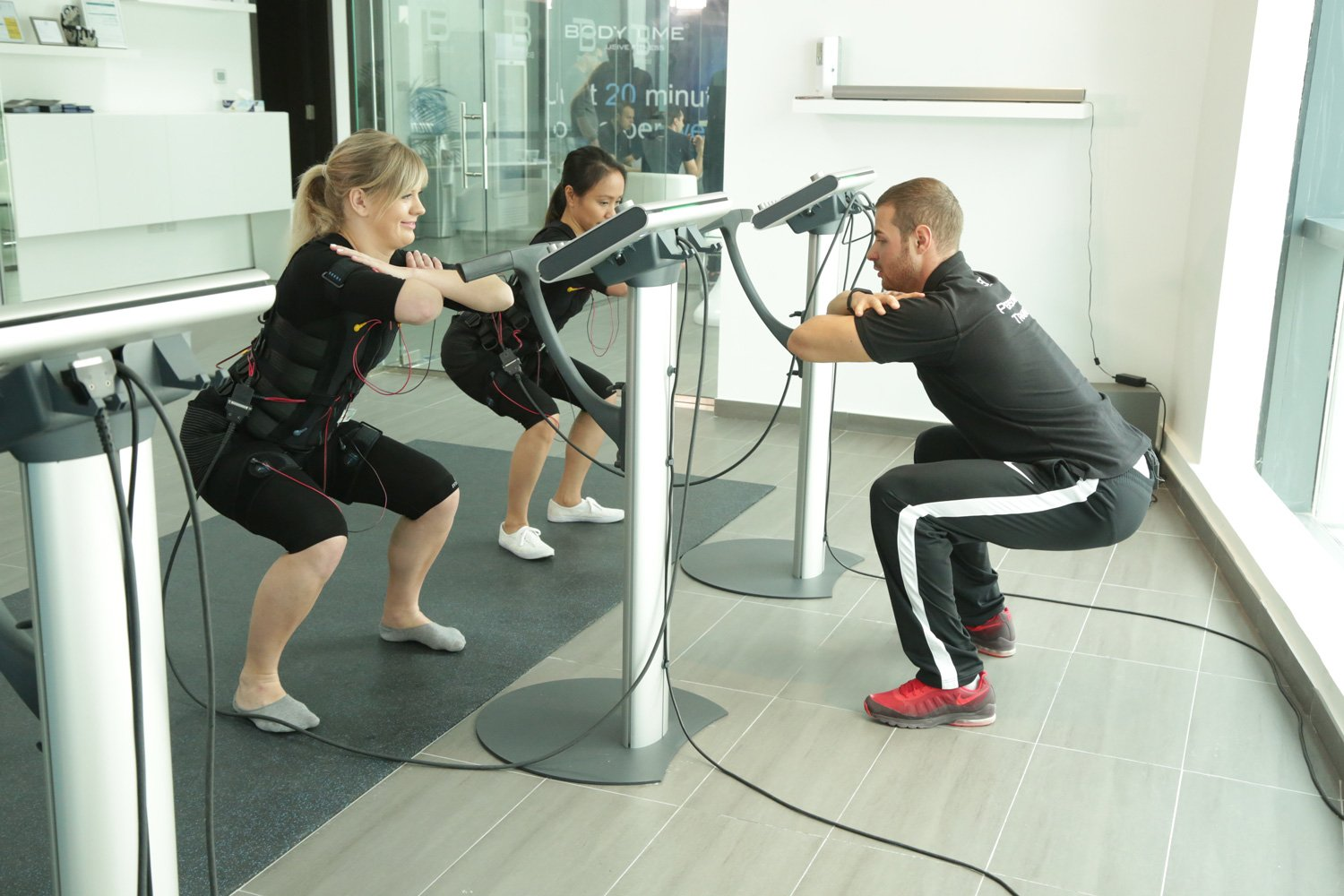 Body Time EMS Training For Post Pregnancy Fitness