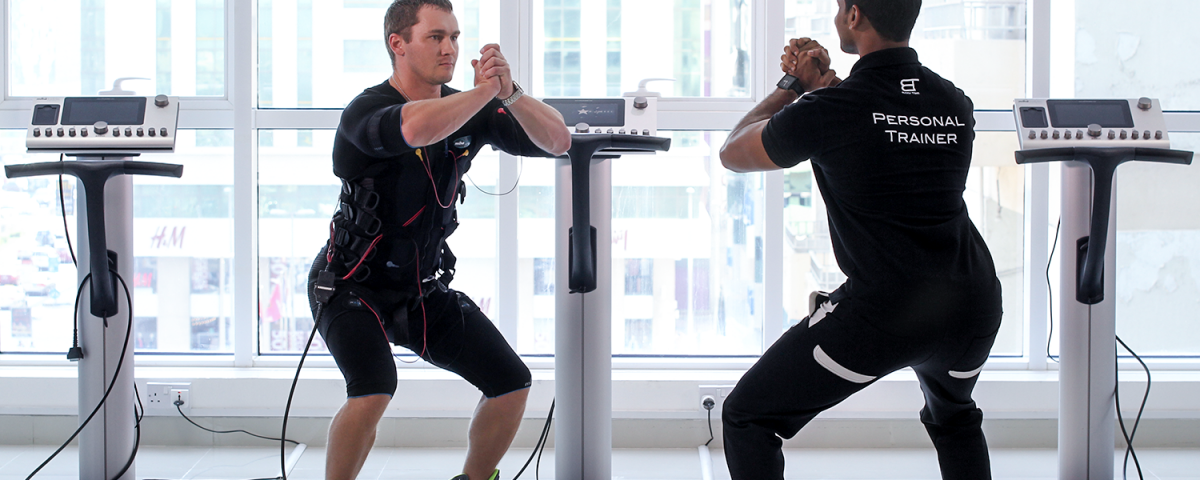 Body Time EMS training at body tech machines