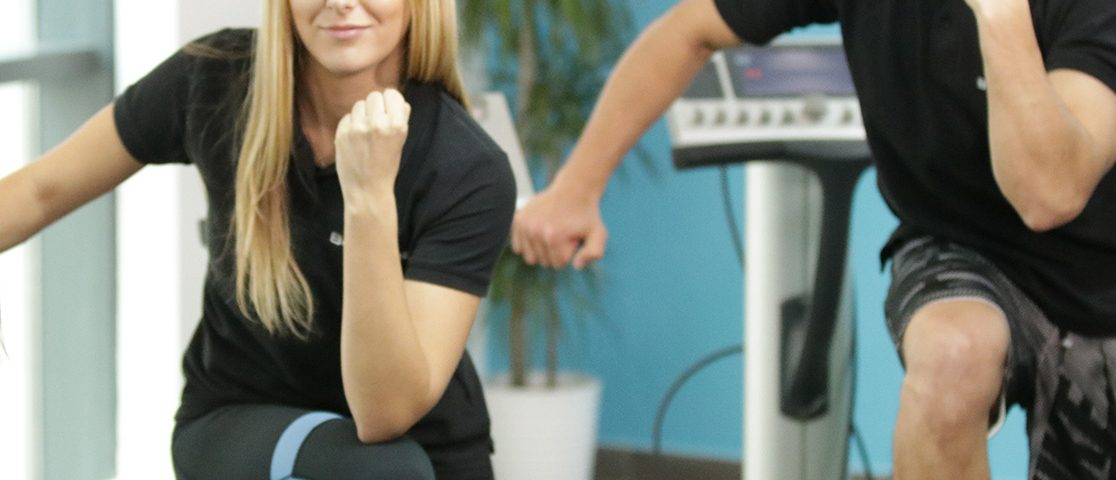 Body Time body toning training with two certified trainers