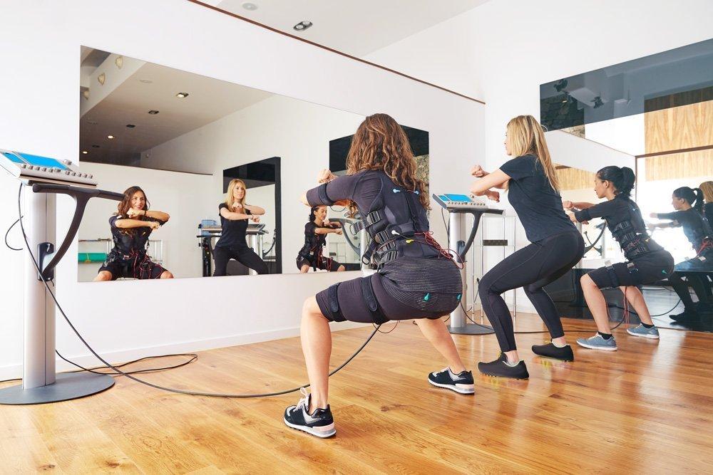 Body Time EMS female group training