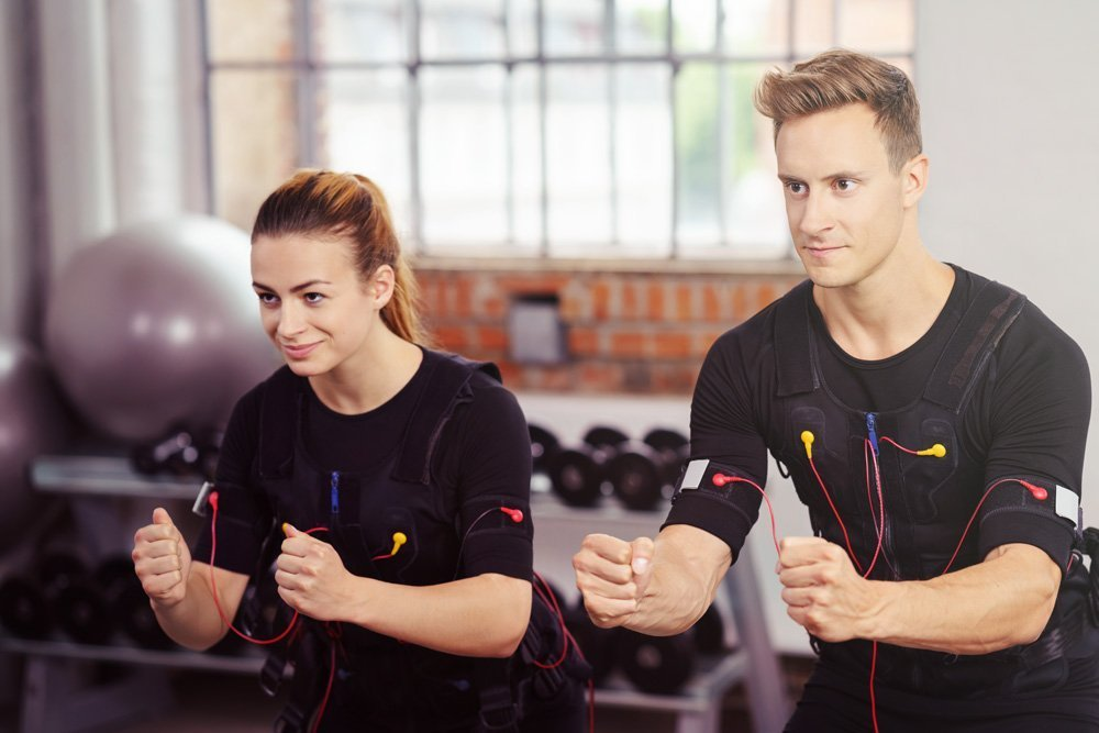 Body Time EMS fitness training female and male