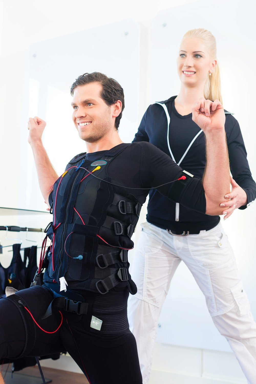 Body Time EMS fitness training for back pain