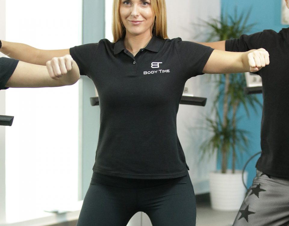 Body Time personal certified trainer in Dubai
