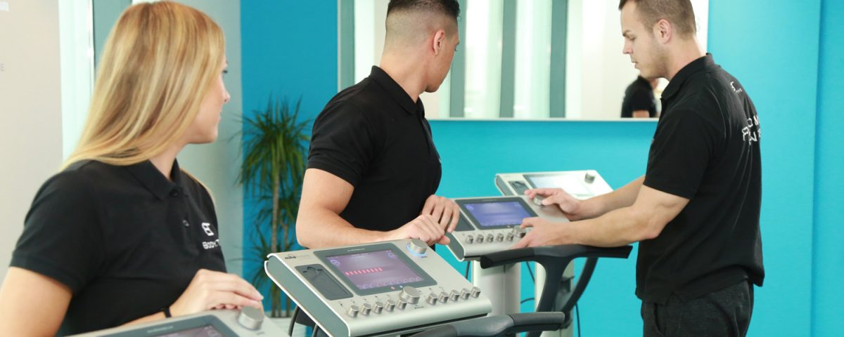 Body Time trainers at body tech machines