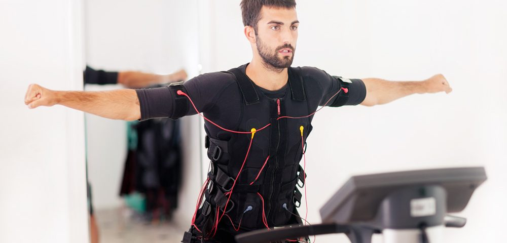 Body Time training in EMS suit