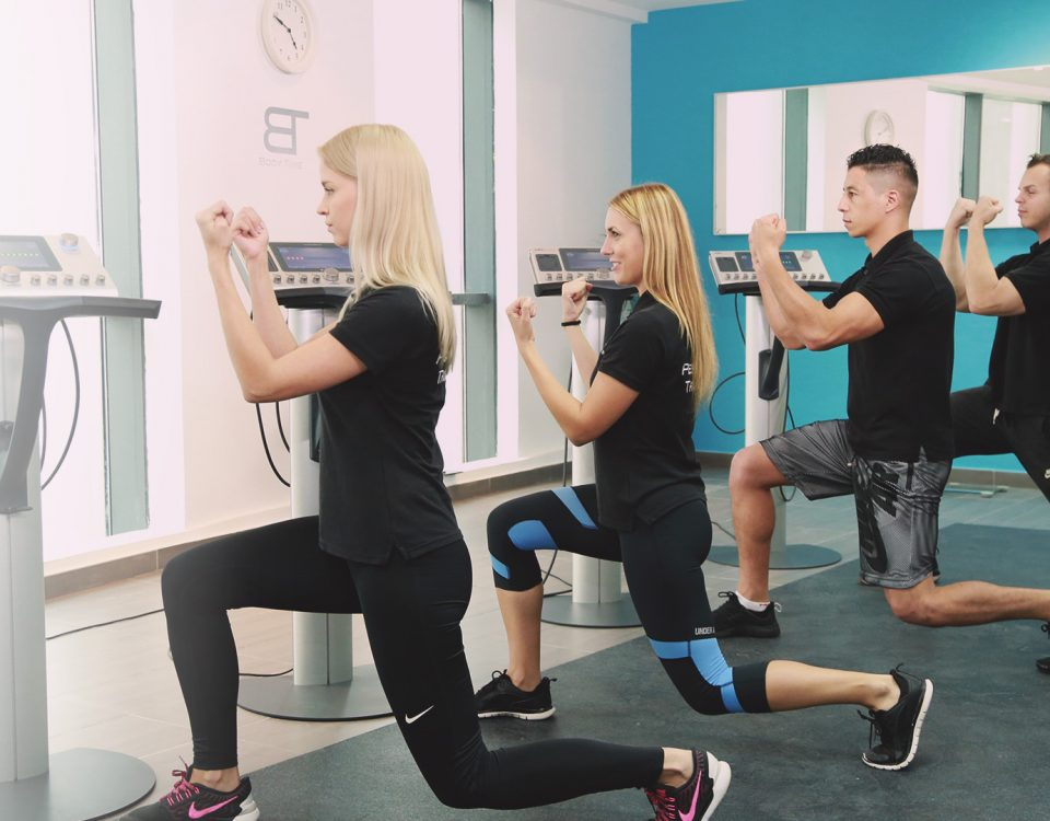 Body Time EMS fitness training studio with certified trainers