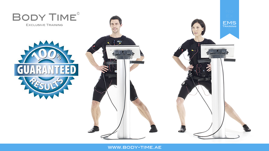 Body Time EMS fitness training with guaranteed results
