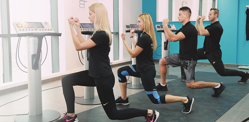 Body Time certified trainers at body tech machines