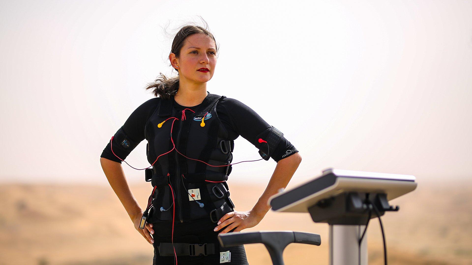 Body Time EMS training in the desert