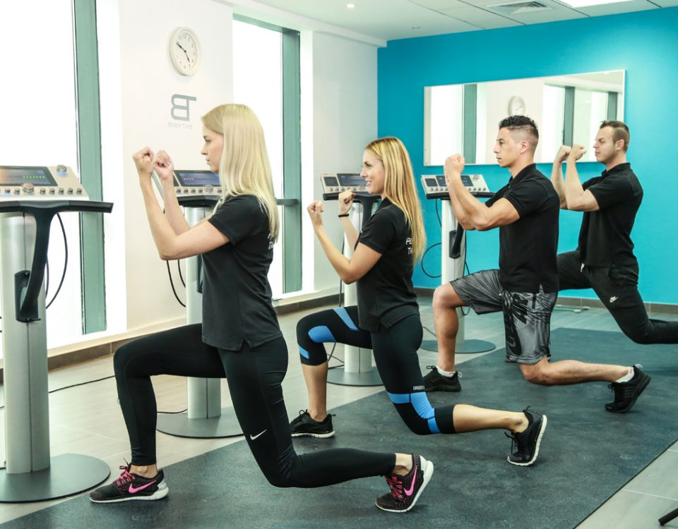 Body Time EMS female and male certified trainers in Dubai